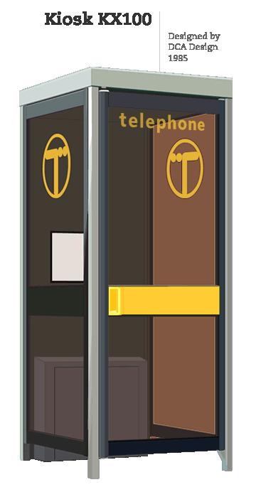 Kiosk KX100 | Designed by British Telecom, 1985