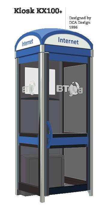 Kiosk KX100+ | Designed by DCA Design, 1996