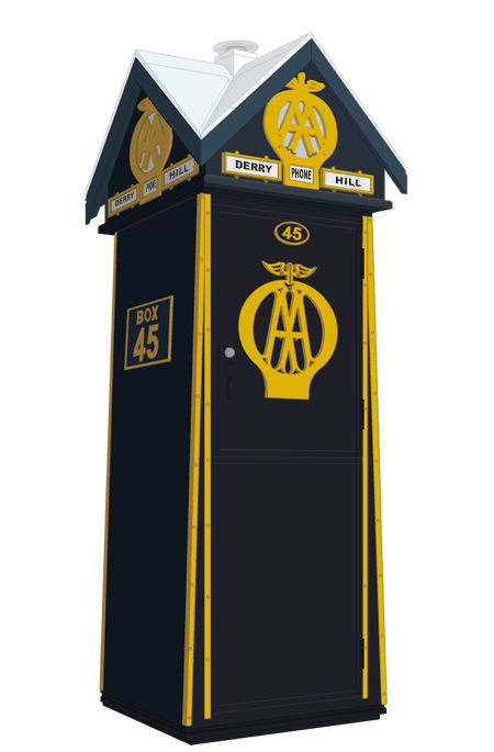 AA Sentry Box, designed by The Automobile Association