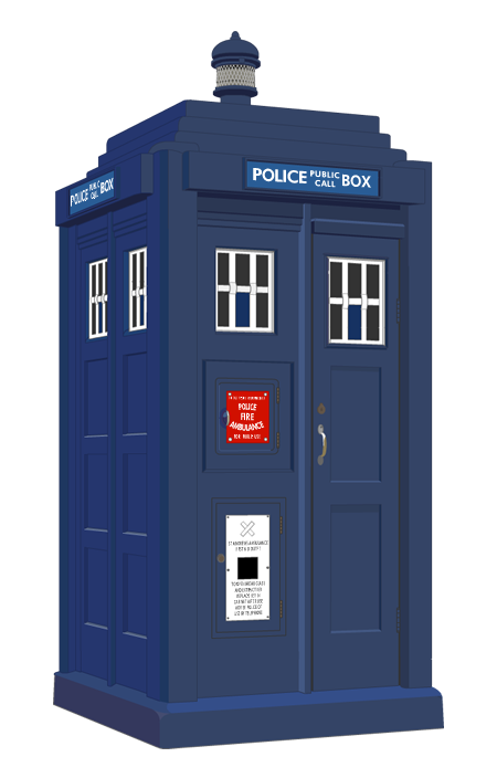 Police Box, by Gilbert Mackenzie Trench  Illustration by Richard Coltman.
